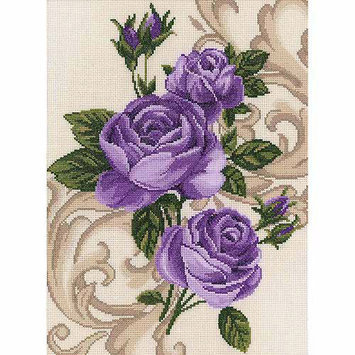 RTO Roses Counted Cross Stitch Kit