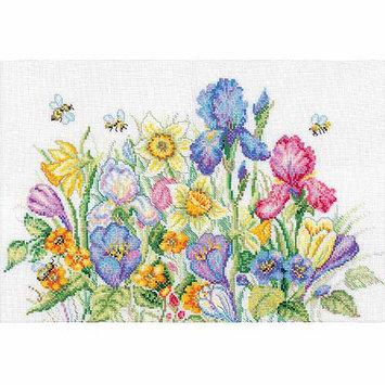RTO Garden Flowers Counted Cross Stitch Kit