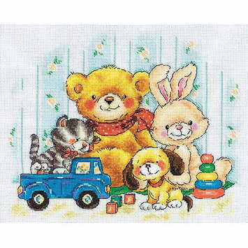 RTO Toys Counted Cross Stitch Kit