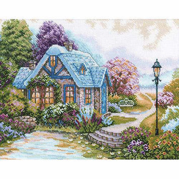 RTO Home Sweet Home Counted Cross Stitch Kit