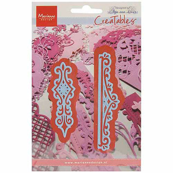 Ecstasy Crafts MLR0270 Marianne Design Creatables Dies-Anjas Vintage 2 Ornaments Up To 3.875