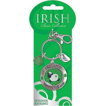 Dublin Gift 551 Classic Sheep Spinner Key Ring