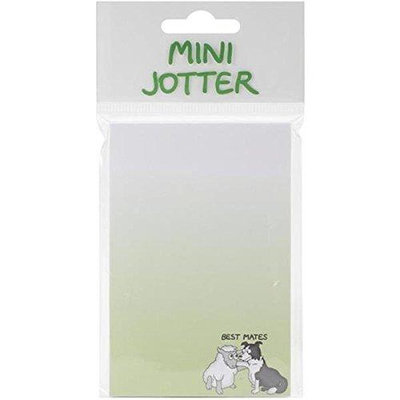 Dublin Gift DG3116 Mini Jotter Note Pad 2.75 in. X5.5 in. -Best Mates