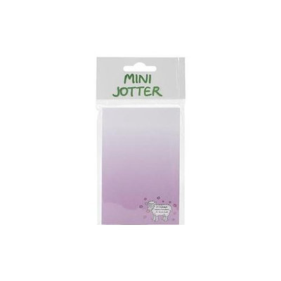 Dublin Gift DG3123 Mini Jotter Note Pad 2.75 in. X5.5 in. -If Friends Were Flowers