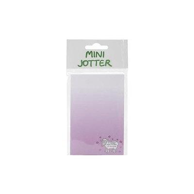 Dublin Gift DG3123 Mini Jotter Note Pad 2.75 in. X5.5 in. -If Friends Were Flowers