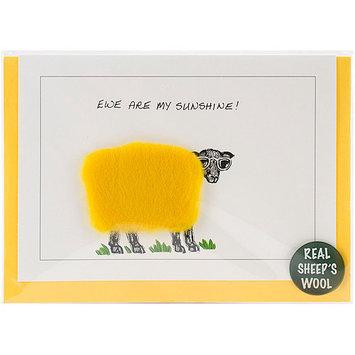 Dublin Gift DGS23 Hand Made Sheep Cards -Ewe Are My Sunshine