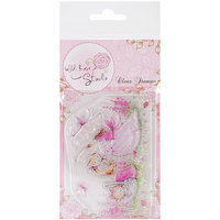 Wild Rose Studio WRSCL326 Clear Stamp Set-Bella With Posy
