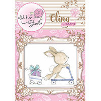 Wild Rose Studio WRSCS328 Cling Stamp-Elsie and Mouse