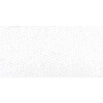 Products From Abroad 100% Cotton Twill Tape - 55 Yards White 1