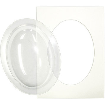 Flower Soft Display Globes-5 Globes, 1 Aperture Template