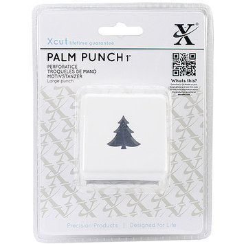 docrafts XC261893 Large Palm Punch-Christmas Tree