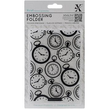docrafts XC515137 Xcut Universal A6 Embossing Folder-Pocket Watch Background