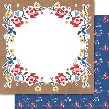 Ruby Rock-it Handi Scandi Double-Sided Cardstock 12X12-Floriade Pack Of 10