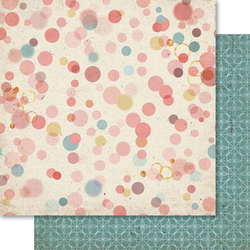 Ruby Rock-it Country Cookin Double-Sided Cardstock 12X12-Splotch Pack Of 10