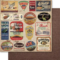 Ruby Rock-it Country Cookin Double-Sided Cardstock 12X12-Knick Knacks Pack Of 10