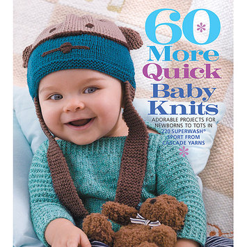 The One Sixth & Springs Books-60 More Quick Baby Knits