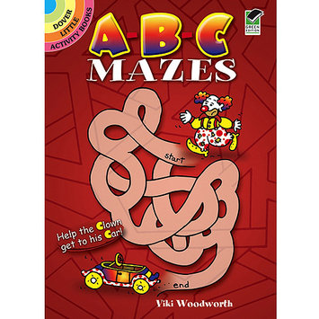 Dover DOV-44726 Dover Publications-Abc Mazes Book