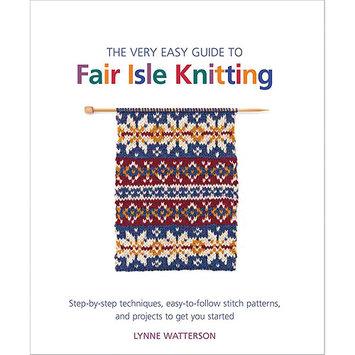 Macmillan Publishing Company Very Easy Guide To Fair Isle Knitting