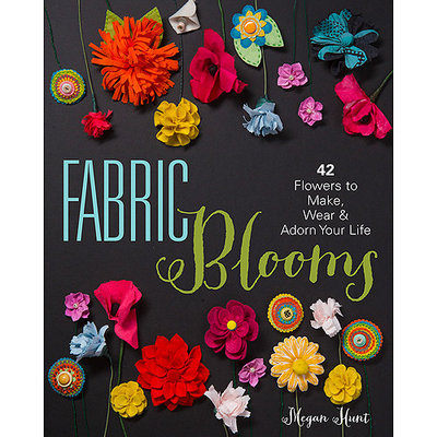 Sterling Publishing Lark Books-Fabric Blooms