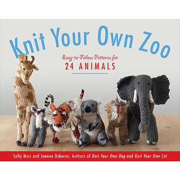 Storey Publishing Black Dog Books-Knit Your Own Zoo