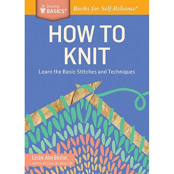 Storey Publishing-How To Knit