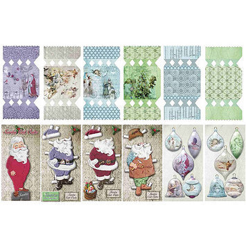 Fabscraps Angelic Christmas Project Pre-Cuts Packets Each W/12 Designs - 5 Packets Per Box