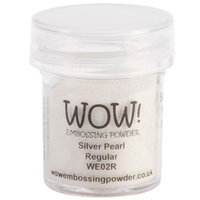 Wow Embossing Powder WOW-WE02R 15ml-Silver Pearl
