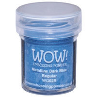 Wow Embossing Powder WOW-WG02R 15ml-Dark Blue Metalline