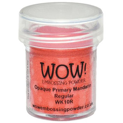 Wow Embossing Powder WOW-WK10R 15ml-Opaque Primary Mandarin