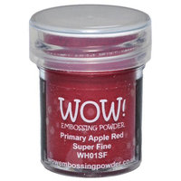Wow Embossing Powder WOW-SF-WH01 Super Fine 15ml-Primary Apple Red