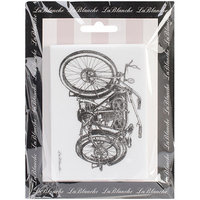 LaBlanche LB1377 LaBlanche Silicone Stamp 4 in. X3 in. -Motorcycle