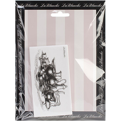 LaBlanche LB1396 LaBlanche Silicone Stamp 2.5 in. X4 in. -Tea Time
