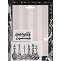 LaBlanche LB1386 LaBlanche Silicone Stamps 6 in. X7.5 in. Sheet-Roses