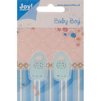 Ecstasy Crafts JC20212 Joy Crafts Cut & Emboss Dies-Baby Boy Shoes .75 in. X1.25 in.