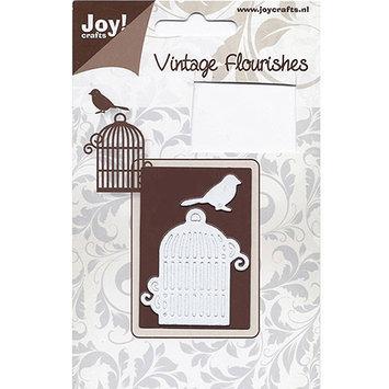 Ecstasy Crafts JC30034 Joy Crafts Cutting Die-Bird Cage