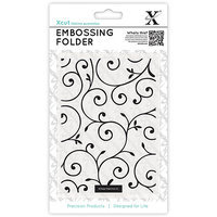 docrafts XC515126 Xcut Universal A6 Embossing Folder-Delicate Flourishes