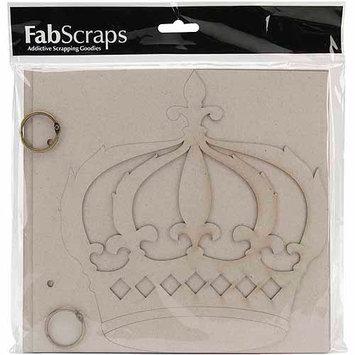 Fabscraps Die-Cut Chipboard Album - Wedding Cake
