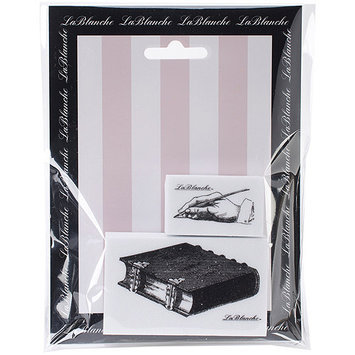 LaBlanche LB1405 LaBlanche Silicone Stamps-Book & Hand