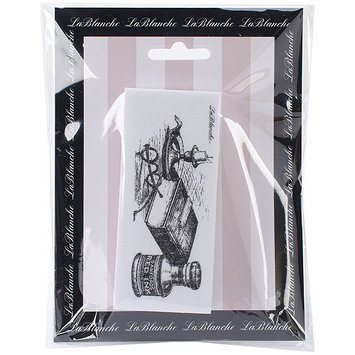 LaBlanche LB1406 LaBlanche Silicone Stamp 4 in. X2 in. -Scholars Desktop