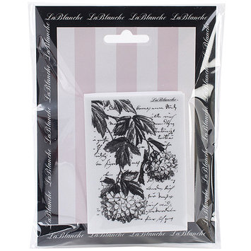 LaBlanche LB1423 LaBlanche Silicone Stamp 2.5 in. X3.5 in. -Hanging Hydrangea