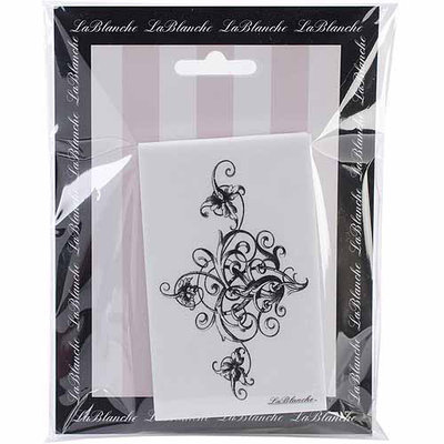 LaBlanche LB1426 Lablanche Silicone Stamp 2.5 in. x4 in. -Stately Swirl