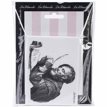 LaBlanche LB1428 LaBlanche Silicone Stamp 4 in. X3 in. -The Scholar