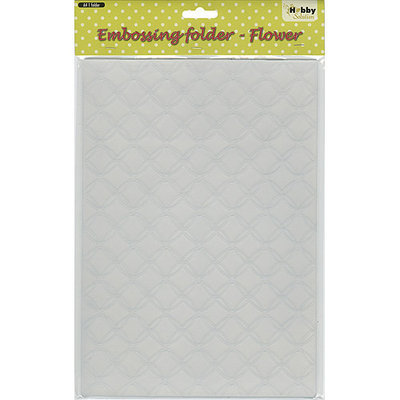 Ecstasy Crafts HSF013 Nellies Choice Embossing Folder A4-Gauze