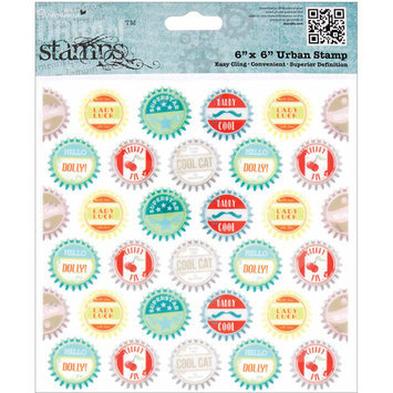 Docrafts Papermania Happy Days Urban Stamps - Measuring Tape
