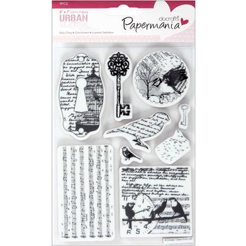 Docrafts Papermania Cling Urban Stamps, 5