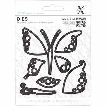 Docrafts Xcut Decorative Dies, Butterflies