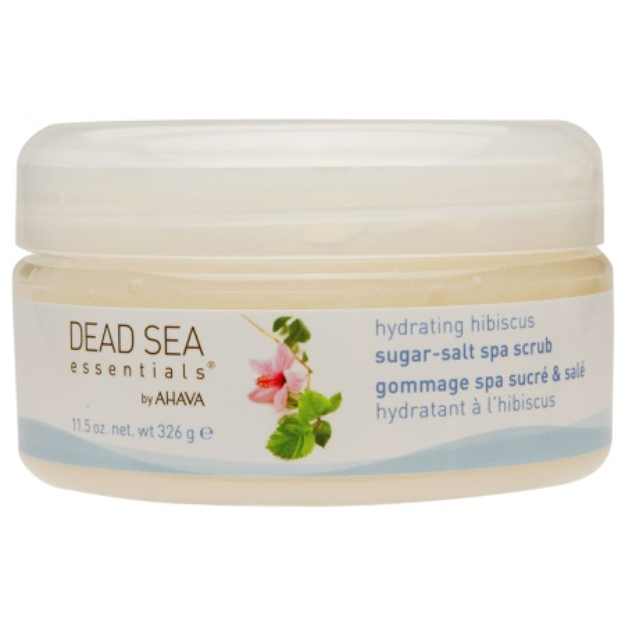 Dead Sea Essentials by AHAVA Sugar-Salt Spa Scrub Hydrating Hibiscus