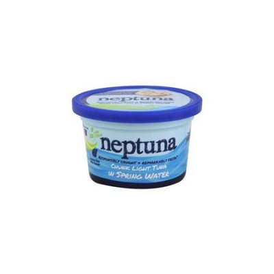 Neptuna Chunk Light Tuna in Spring Water Plain 5.2 oz
