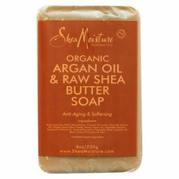 SheaMoisture Organic Argan Oil & Raw Shea Butter Soap