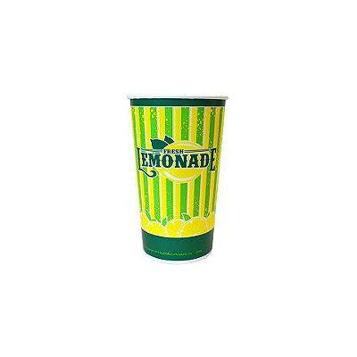Gold Medal 5305 - Cups, 32 oz, Lemonade Special Print, 480 Per Case